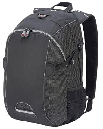 Shugon Liverpool Tour Backpack Colour=Black/Black Dotted Size=O/S