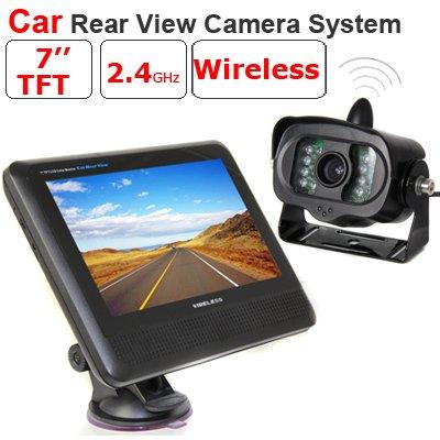 BW Wireless Car Rückfahrkamera System mit 17,78 cm TFT-LCD Monitor (Wireless-rückfahrkamera-system)