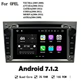 Grau Farbe Car Multimedia Player Radio Stereo Android 7.1.2 2 GB RAM GPS Navi Head Unit für Opel Vectra Antara Zafira Corsa Meriva Astra