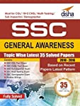 Topic-wise Solved Paper SSC General Awareness consists of past solved papers of SSC CGL, 10+2 CHSL, Sub-Inspector, Multi Tasking, and Stenographer from 2010 to 2016.• The coverage of the papers has been kept 'Recent' (2010 to 2016) as they actually r...