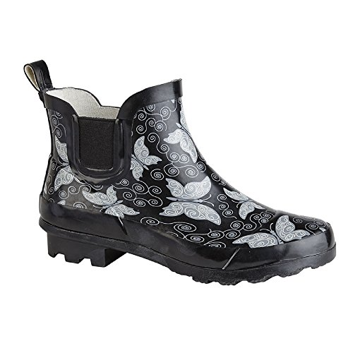 StormWells Womens/Ladies Butterflies Short Wellington Boots
