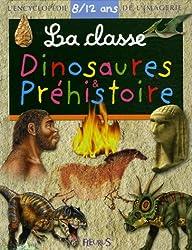 La Classe Dinosaures et Préhistoire 8/12 ans