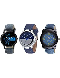 WM Stylish Watches For Boys And Men Combo Gift Set With Sunglasses WMCx-004-AWCx-006-AWCx-016-BUaeons