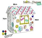 Smith & Dupont Fun! Papphaus Zum Bemalen - Spielhäuser (Gourmet-Haus)