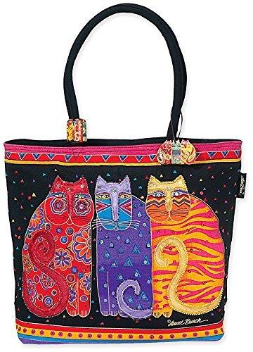 laurel-burch-shoulder-zipper-top-19-by-5-by-15-inch-feline-friends-by-laurel-burch