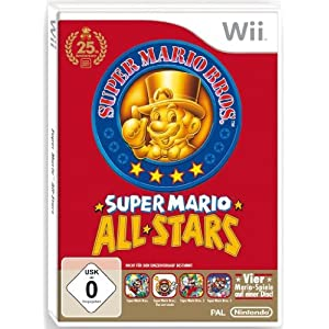 Super Mario All Stars (Single Edition) Nintendo Wii – 25 Jahre Jubiläum