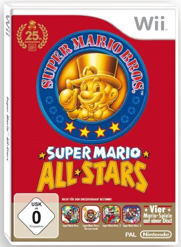 Für Das Super Nintendo Pokemon (Super Mario All Stars (Single Edition) Nintendo Wii - 25 Jahre Jubiläum)