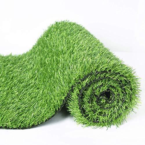 Al aire libre Alfombra de césped artificial realista Alfombra de césped artificial verde premium for interiores y exteriores Césped artificial de primera calidad Parche de hierba falsa Agujeros de dre