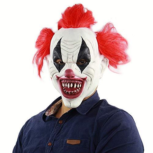 Forart Latex Halloween Party Cosplay Gesichtsmaske Clown Kostüme Maske Anzieh Party Masken Party Requisiten Masken