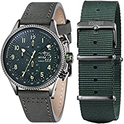 Verde Hawker Hunter reloj por AVI-8