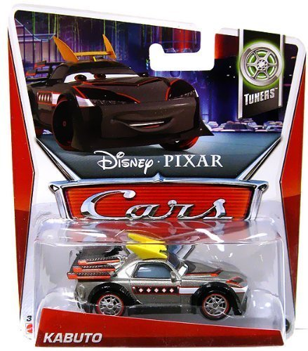 Disney Pixar Cars, Tuners Die-Cast, Kabuto #2/10, 1:55 Scale by Mattel Toys - Cars Kabuto