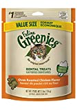 Greenies FELINE Dental Treats for Cats Oven Roasted Chicken Flavor 5.5 oz.