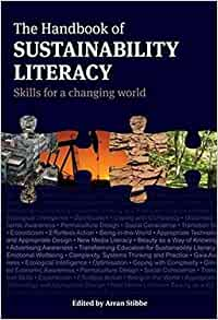 Book cover of The Handbook of Sustainability Literacy, edited by Arran Stibbe