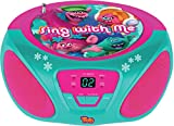 Best Cd Player For Kids - Sakar - Trolls Child Boombox CD Player Review