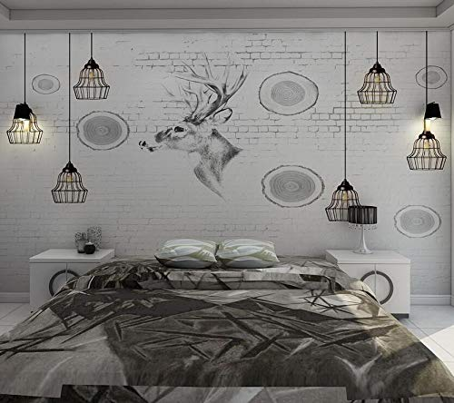 TV hintergrund tapeten einfache moderne wohnzimmer wandbilder video wandverkleidung schlafzimmer persönlichkeit kunst nordic tapete 3d 430cm * 300cm