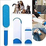 CALOPS Hurricane Pelz Zauberer kleiderbürste Fusselbürste Stoff Pinsel Haarroller Tierbürste Katzenbürste für Hund Katze/Kleidung/Möbel/Couch/Teppich/Autositz