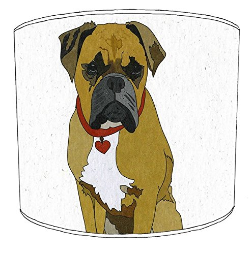 30,5cm Decke boxer dog print Lampenschirme 9 -