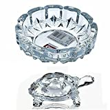 #10: New Look Crystal Turtle-Tortoise for Feng Shui and vastu-Best Gift for Blessing-With Pond-Pot