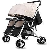 Twin Double Stroller Sit ou Stand Poussettes Landau Baby Trend Jogger
