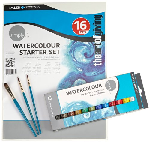 Daler Rowney 134500005 - Simply Watercolour Starter Set