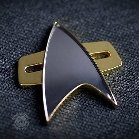 Star Trek Voyager Communication Badge (Voyager Trek Star Kostüme)
