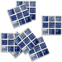 Adhesivo para azulejos Pegatina de Pared Cocina Pegatinas de Vinilo Art Wall Decal-Sencillo Vida