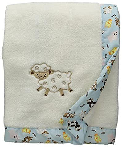 Trend Lab Framed Receiving Blanket, Baby