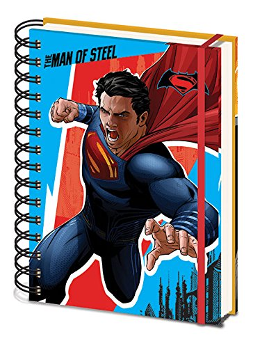Pyramid International sr72052 Batman Vs Superman A5 Carnet à spirales