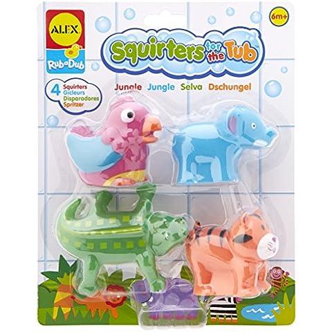 Alex 52607005 - Animaletti della giungla da vasca da bagno