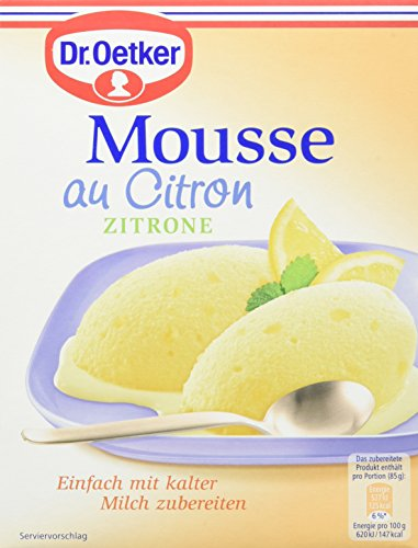 trone, 8er Pack (8 x 93 g Packung) (Zitronen-mousse)