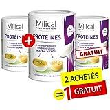 MILICAL - 2 +1 Gratuite - Pur protéine goût neutre MILICAL
