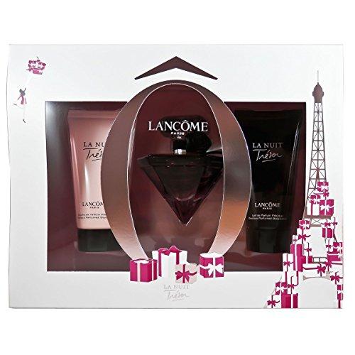 Lancôme La Nuit Trésor femme Geschenkset, 1er Pack (Eau de Parfum 30 ml, Körperlotion 50 ml, Duschgel 50 ml)