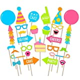 #5: Birthday Photo Booth Props 28 Pcs/ birthday party props for kids / Happy Birthday Party Supplies / birthday decoration / birthday Photo Booth
