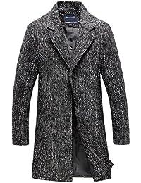 Suchergebnis auf f r langer schwarzer mantel 3xl herren bekleidung - Schwarzer langer mantel ...