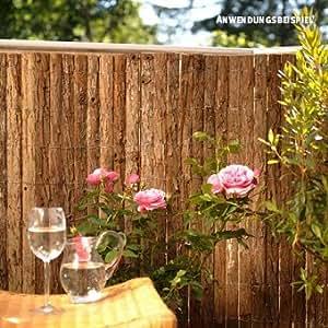 Videx-Sichtschutzmatte Rinde Bretagne, 90 x 300cm