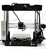 Anet A8 3D Drucker, Prusa I3 3D Printer DIY, 3D-Drucker Kit, Upgradest High Precision Selbstbauen 3D Drucker mit LCD Bildschirm