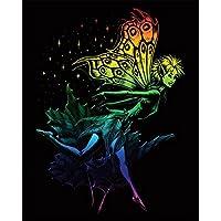 Royal & Langnickel - Lámina para grabado (20,3 x 25,4 cm), diseño de hada, multicolor