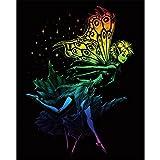 Kratzbild Tanzende Fee - Dancing Fairy