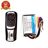 TRP TRADERS 3 Way Remote Control Switch H2O, Wireless RF Radio Remote Control Switch for Light & Fan