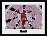 GB eye Ltd 2001una odisea del Espacio, Astronauta, Cuadro Enmarcado, diseño de 30x 40cm, Madera, Varios, 52x 44x 3cm