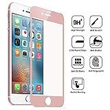 AIBULO Protecteur d'écran 3D Bord couverture en verre trempé pour iPhone 7 Plus (rose Or)