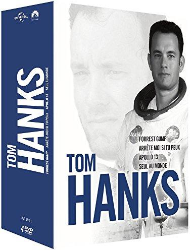 Tom Hanks- Coffret : Forrest Gump + Seul au monde + Arrête-moi si tu peux + Apollo 13