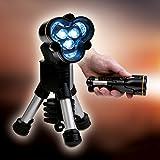 LED Lampe Tripod Outdoorlampe Angellampe Taschenlampe Angel Taschen Lampe