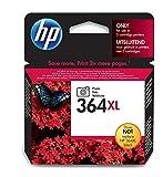 HP 364XL Schwarz Original Druckerpatrone mit hoher Reichweite für HP Deskjet 3070A, 3520; HP Photosmart 5510, 5515, 5520, 5525, 6510, 6520, 7510, 7520, C5324, C5380, C6324, C6380, B8550, D5460; HP Officejet 4620, 4622