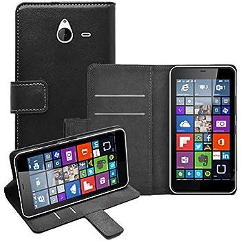 premium selection d0d05 c1d95 Case Collection Premium Leather Folio Cover for Microsoft Lumia 640 ...