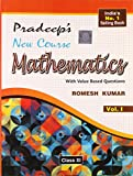 Pradeep's New Course Mathematics with Value Based Questions - Class XI (Set of 2 Volumes)