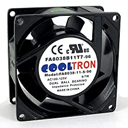 230V AC Cooling Fan. 80mm x 38mm HS
