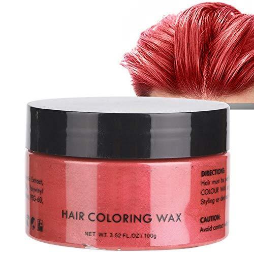 Haarfärbemittel Wachs, Einweg Unisex Multi-Color Temporäre Modellierung Mode DIY Haarfarbe Ton für Party, Halloween, Cosplay(8#) (Aktuelle Events Halloween Kostüme)