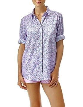 Vilebrequin - Camisa Fondoir en gasa de algodón con estampado Micro Turtles - Mujer