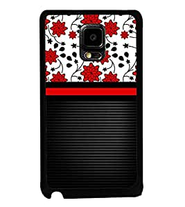 Fuson Lovely Flowers Girl Design Designer Back Case Cover for Samsung Galaxy Note Edge :: Samsung Galaxy Note Edge N915Fy N915A N915T N915K/N915L/N915S N915G N915D (Ethnic Pattern Patterns Floral Decorative Abstact Love Lovely Beauty)